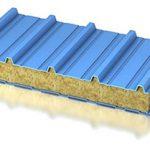 Кровельные сэндвич-панели. Утеплитель: минеральная вата,ПИР, ППУ