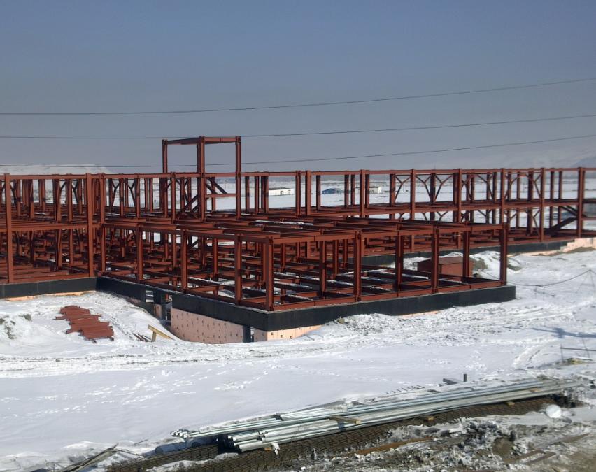 Монтаж металлоконструкций на Севере и в Сибири